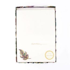 Kartos Italy Variopinta Floral Writing Sheets